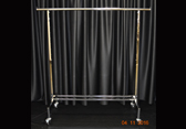 Item #102 - Rolling Rack Free Standing